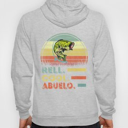 Funny Mens Fishing T-Shirt Vintage Reel Cool Abuelo Fishing Father's Day Hoody