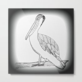 Pelican Messenger comes with a Mindful Message Metal Print