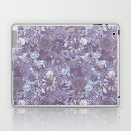 Hellebore lineart florals | soft winter Laptop & iPad Skin