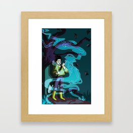YOU GET TO LIVE WITH THIS Framed Art Print