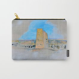 12,000pixel-500dpi - Temple Of Edfou, Upper Egypt - John Frederick Lewis Carry-All Pouch