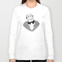 gentleman Long Sleeve T-shirts featuring Gentleman by Addison Karl