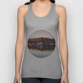 Dawn at the lake Unisex Tank Top