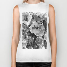 Floral Enchantment No.17D by Kathy Morton Stanion Biker Tank
