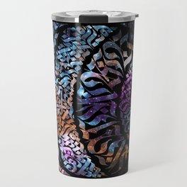 Calligram Nebula 1 Travel Mug