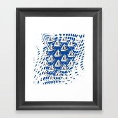Sailing. Framed Art Print