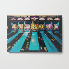 Skee Ball print Metal Print