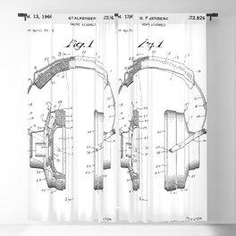 Headphones Patent Blackout Curtain