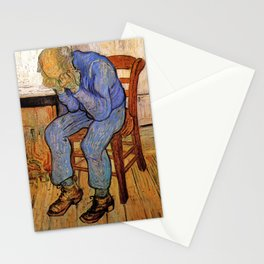 At Eternity's Gate by Vincent van Gogh Stationery Cards