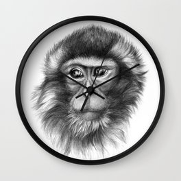 Snow Monkey G2013-069 Wall Clock