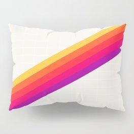 VHS Rainbow 80s Video Tape Pillow Sham