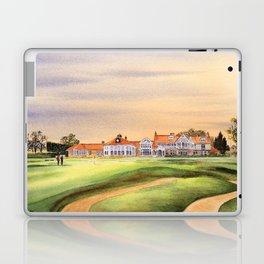 Muirfield Golf Course 18th Green Laptop & iPad Skin