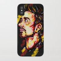 tony stark iPhone & iPod Cases featuring Tony Stark by AlysIndigo