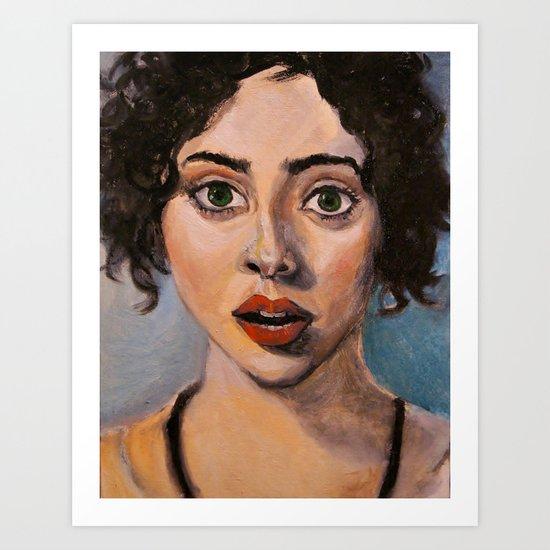 Absinthe Minded Art Print