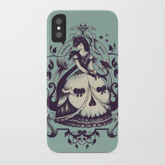 Mrs. Death iPhone Case