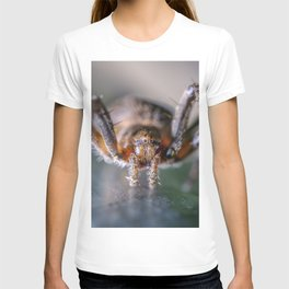 Friendly Spider Macro Photography T-shirt