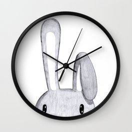 Rabbit question Wall Clock