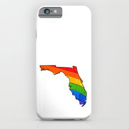 Florida Pride iPhone Case
