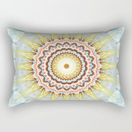 Mandala wintersun Rectangular Pillow