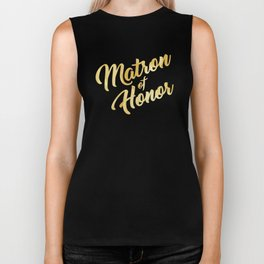 Matron of Honor Biker Tank