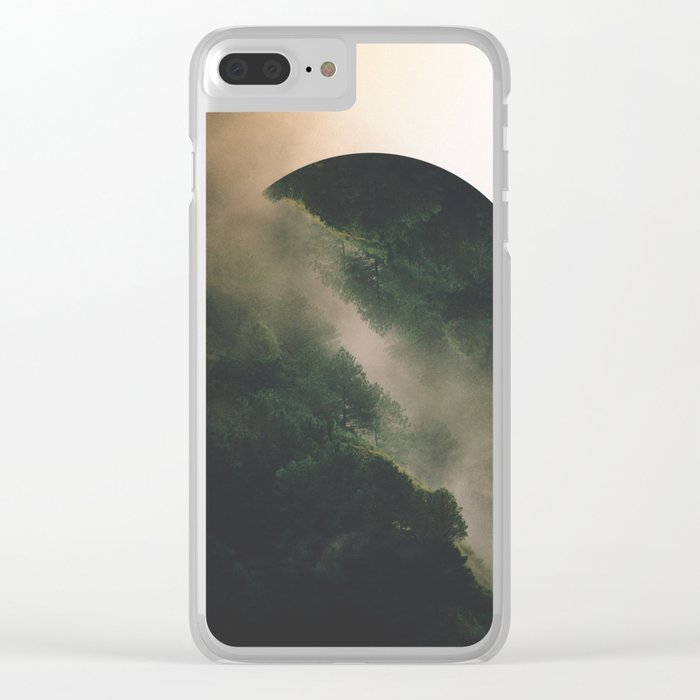 Secrets And Trees Clear iPhone Case