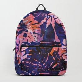 Motuu Tropical Pink & Purple Backpack