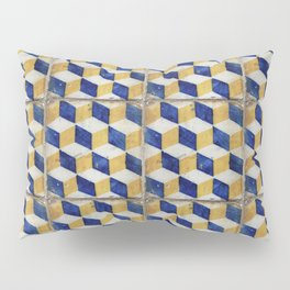 Portuguese tiles pattern Pillow Sham
