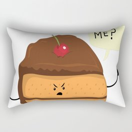 Trouble-Caker! Rectangular Pillow