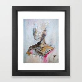 the sparrow Framed Art Print