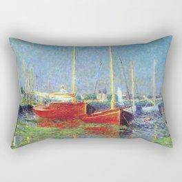 Claude Monet - Argenteuil Rectangular Pillow