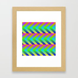 Colorful Gradients Framed Art Print