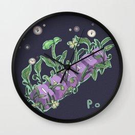 G r o w Wall Clock