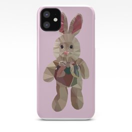 Wether Limited Plush Toy Low Poly Portrait iPhone Case
