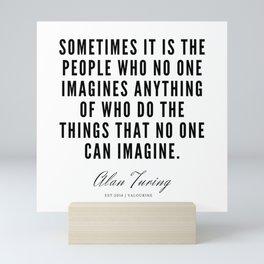 21   | Alan Turing Quotes  | 190716 | Mini Art Print