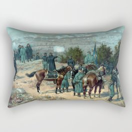 Battle Of Chattanooga - Missionary Ridge Rectangular Pillow