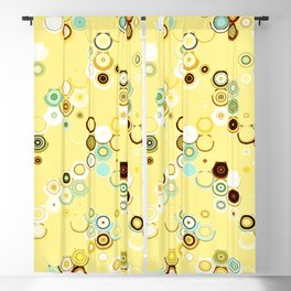 pastel geometric abstract pattern Blackout Curtain