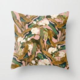 Summer Botanical Garden V Throw Pillow