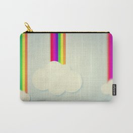 Yellowing Clouds Carry-All Pouch