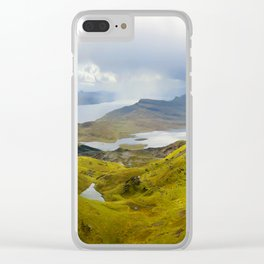 Virgin Landscape Clear iPhone Case