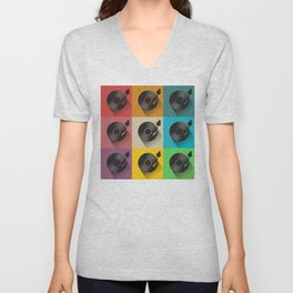 Vinyl Record turntable Unisex V-Neck