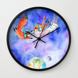 Simon and Chloe - Is there Life Beyond Music? Wall Clock