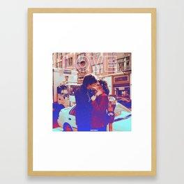 Love Sucks Framed Art Print