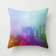 Busan Fog Throw Pillow