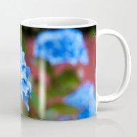 hydrangea Mugs featuring Hydrangea by Mark Alder