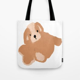 Soft Vector Puppy Tote Bag