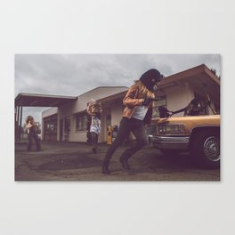 The Heist Part V Canvas Print