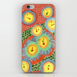 Splashes In Bubbles iPhone Skin