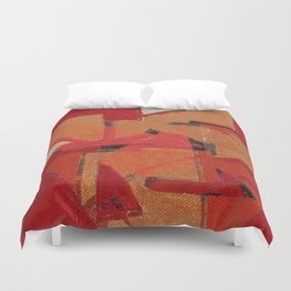 Indigenous Peoples in Brazil Duvet Cover
