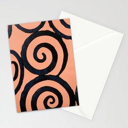 Iron Spirals in Pumpkin Stationery Cards