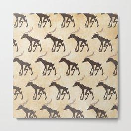 Wendigo Pattern Metal Print